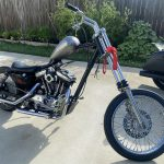 1988 Sportster off the lift for a bit