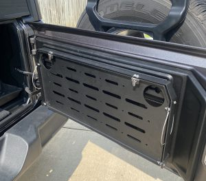 Rough Country Jeep Wrangler JL Tailgate Table Folded